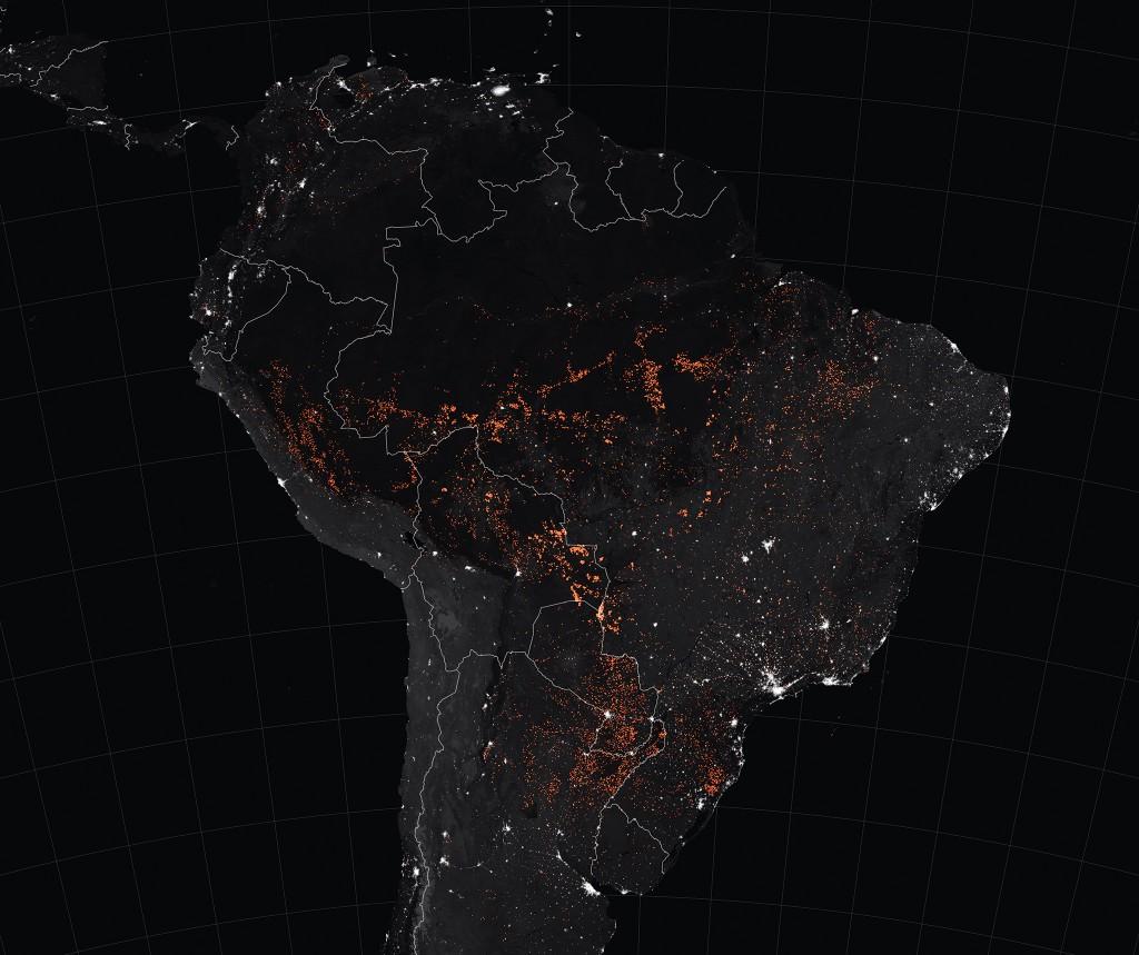 Imagem da NASA em 22 de agosto de 2019