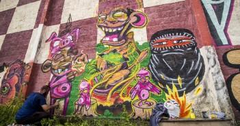 """""""Corpxs em Alvo"""": festival na Comunidade do Bode promove política com tintas"""