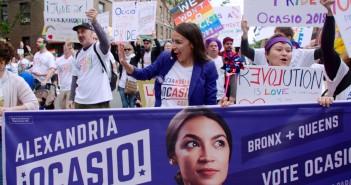 A deputada norte-americana Alexandria Ocasio-Cortez