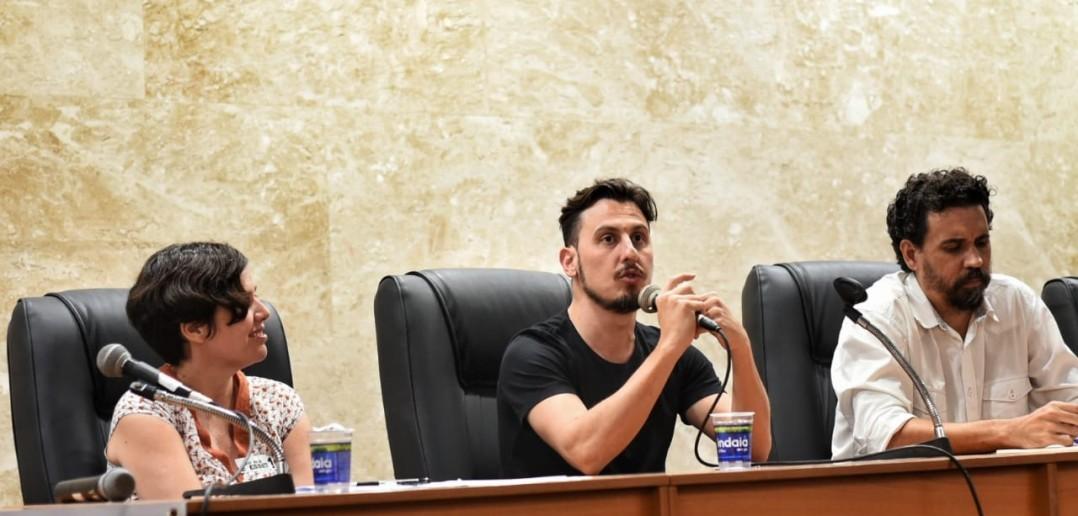 Editor do The Intercept Brasil foi a grande atração da abertura do seminário. Crédito: Inês Campelo/MZ Conteúdo