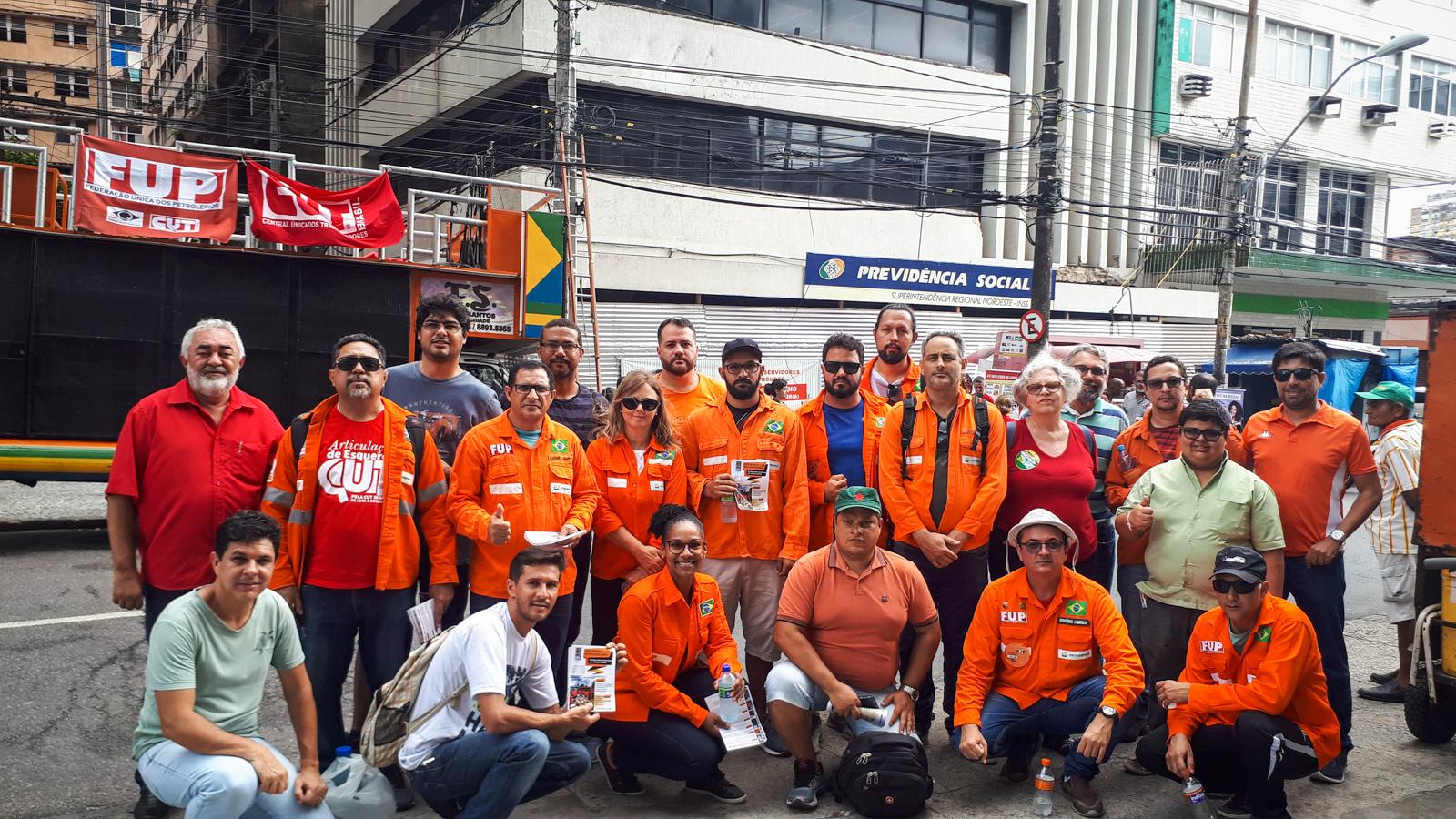 greve dos petroleiros (Crédito Inês Campelo/MZ Conteúdo)
