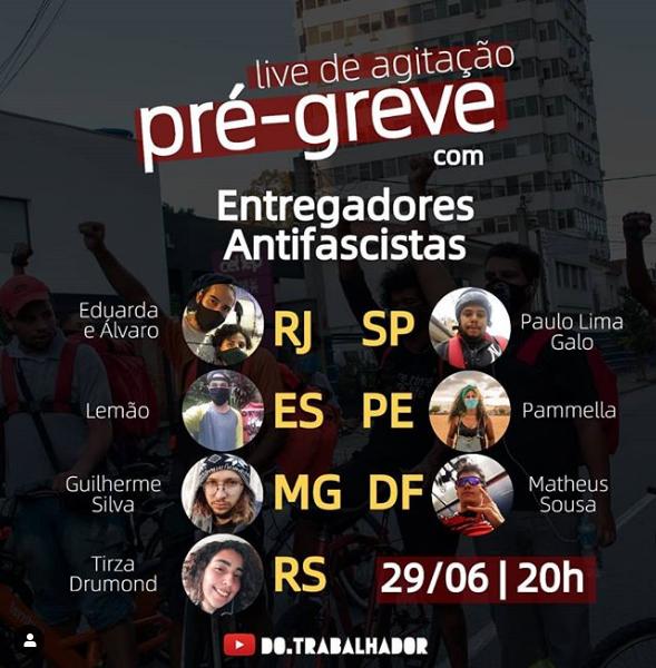 Liderança dos entregadores antifascistas em Pernambuco é jovem, negra, lésbica e da periferia