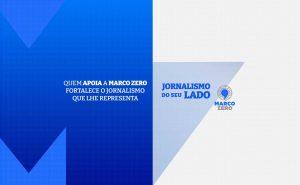 Imagem da campanha de doações Jornalismo do seu lado