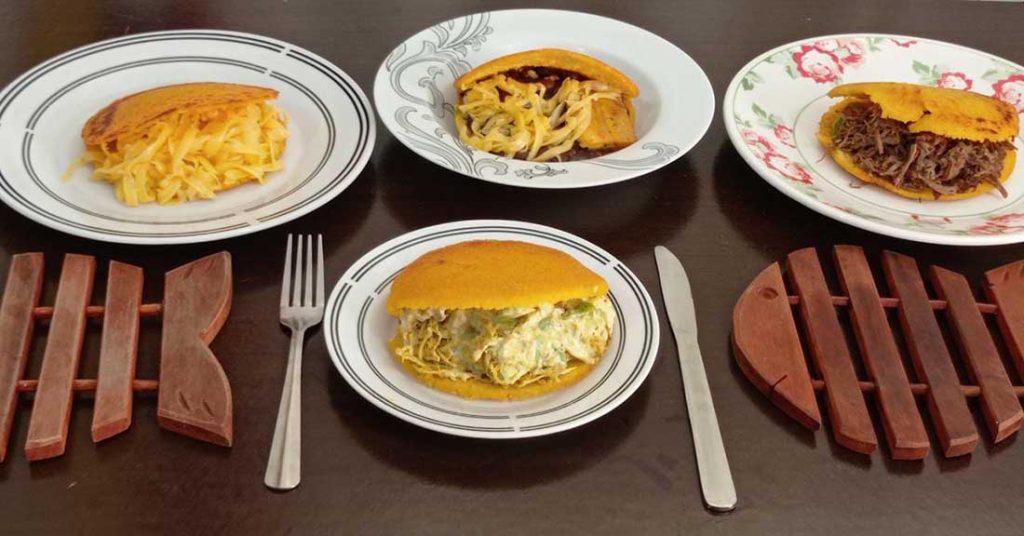 Pratos da culinária venezuelana