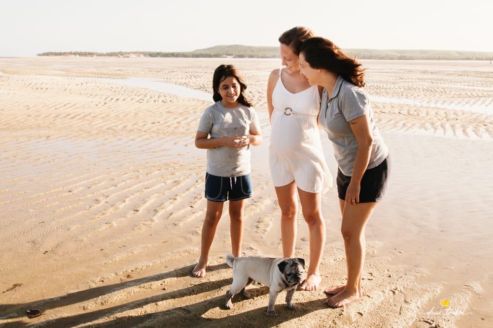 Layla Sampaio é mãe de Luiza de 9 anos e esposa de Isabel Sampaio que está grávida de Lília_ (2)