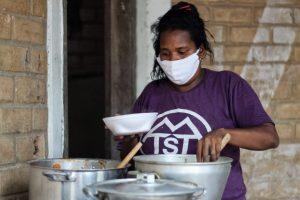 MTST Ocupa terreno na vila Santa Luzia para implementar cozinha solidária