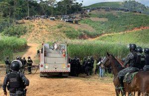 PM despeja 200 famílias de agricultores sem-terra em Amaraji