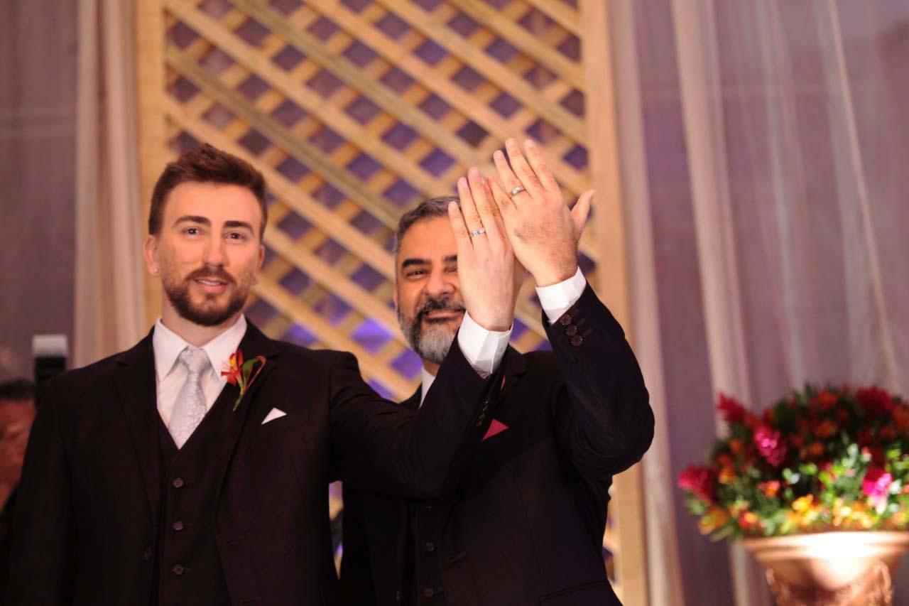 casamento de Ruskin Fernandes Marinho de Freitas e Klécio Fernandes Marinho de Freitas