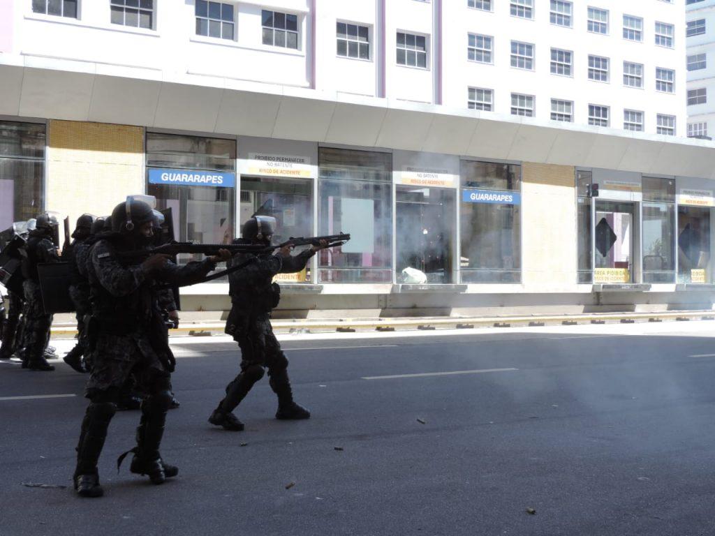 Ato fora Bolsonaro no Recife