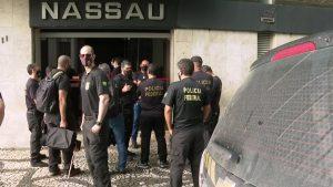 Fachada do escritório da Cimento Nassau uma das empresas do Grupo João Santos