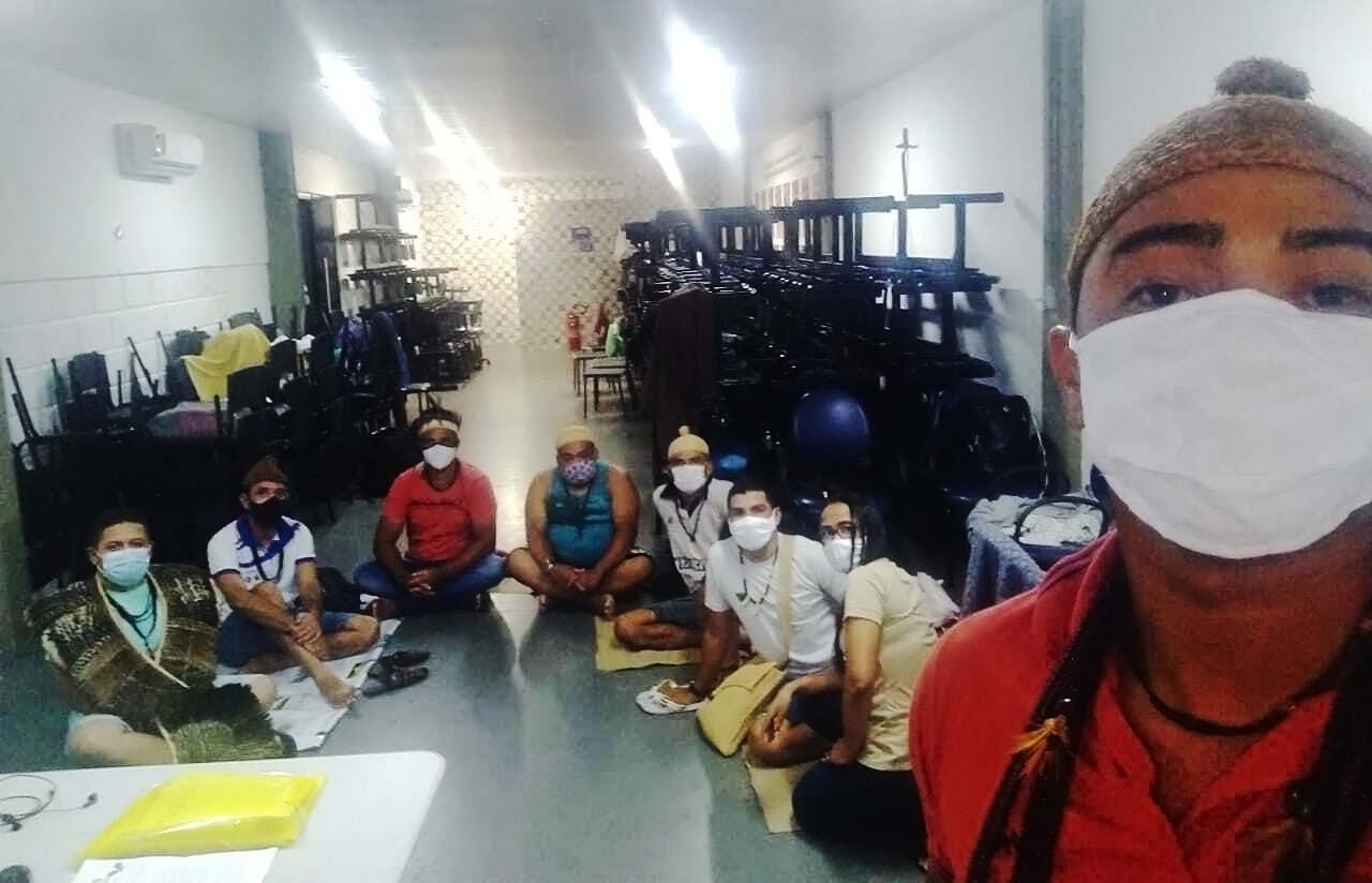 Povo Truká ocupa sede de Distrito Sanitário Indígena, no Recife, para reivindicar vacinação contra a Covid