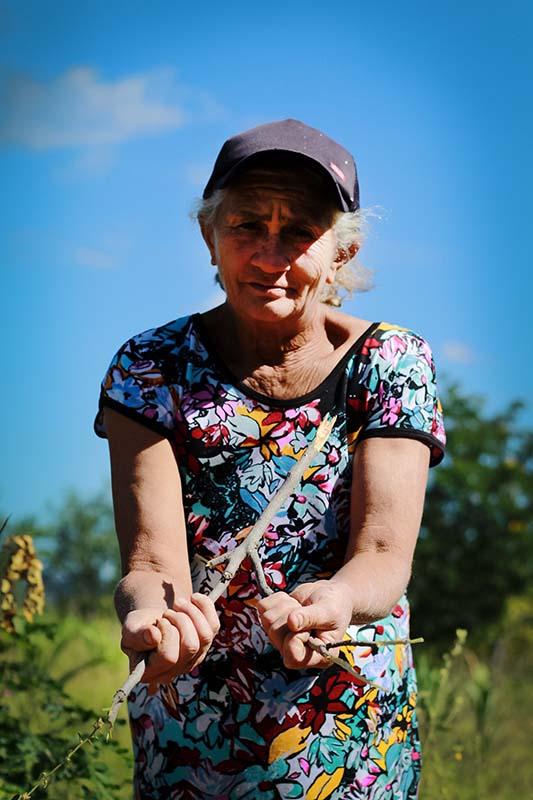 Agricultora Maria do Socorro Teodoro