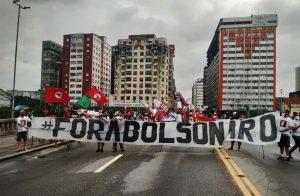 Ato 19J no Recife