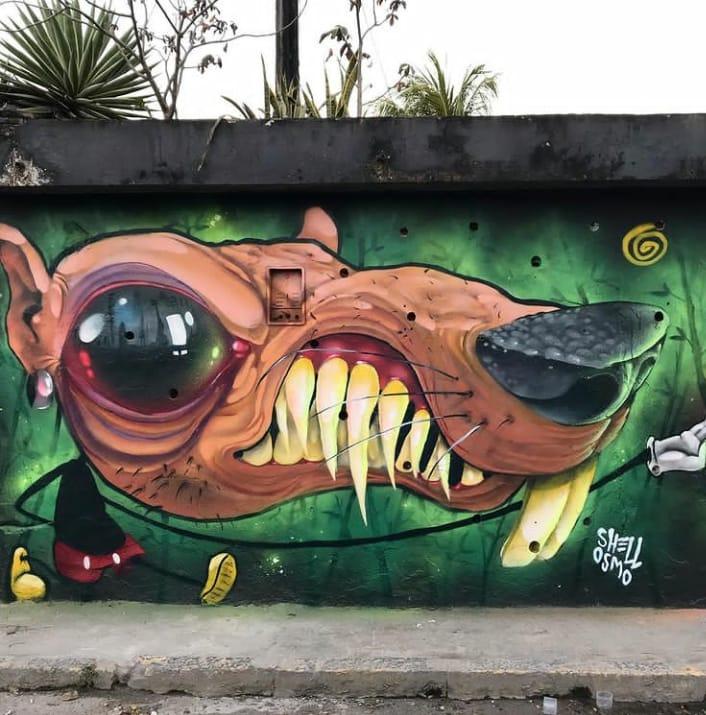 Coletivo Pão e Tinta denuncia agressão e ameaças de policiais a artista que filmou abordagem violenta no Pina