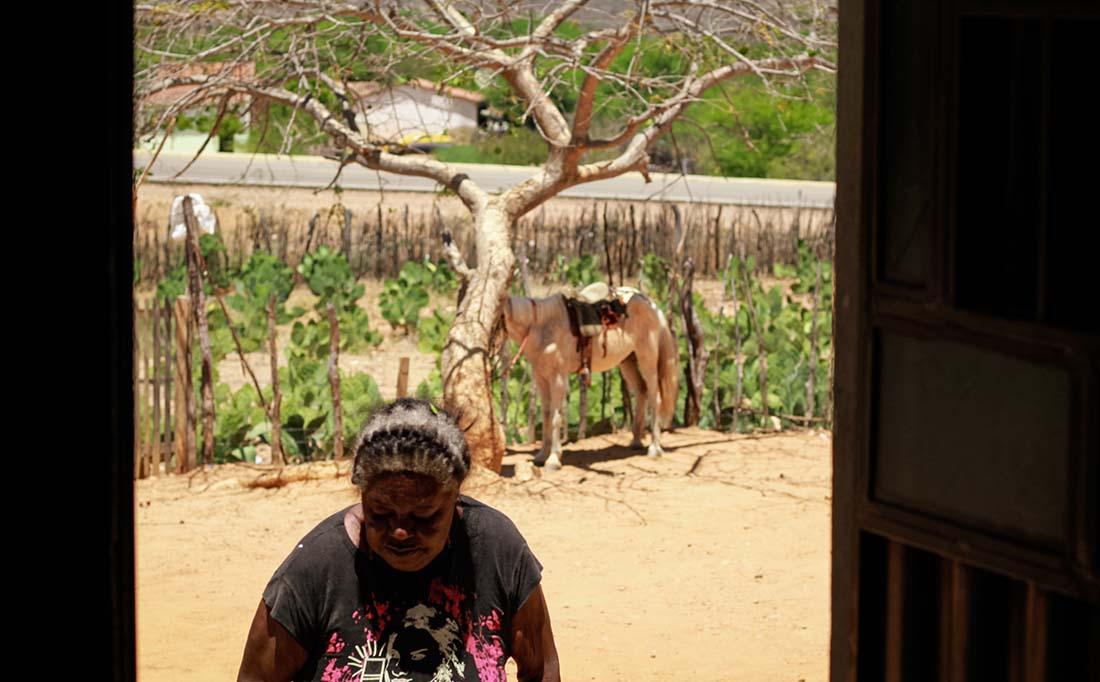 Francisca moradora do quilombo de Teixeira pressionada a mudar de religião