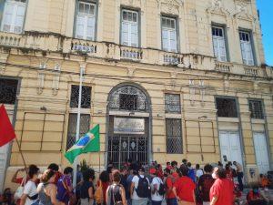 Ocupação no prédio do Centro Cultural dos Correios